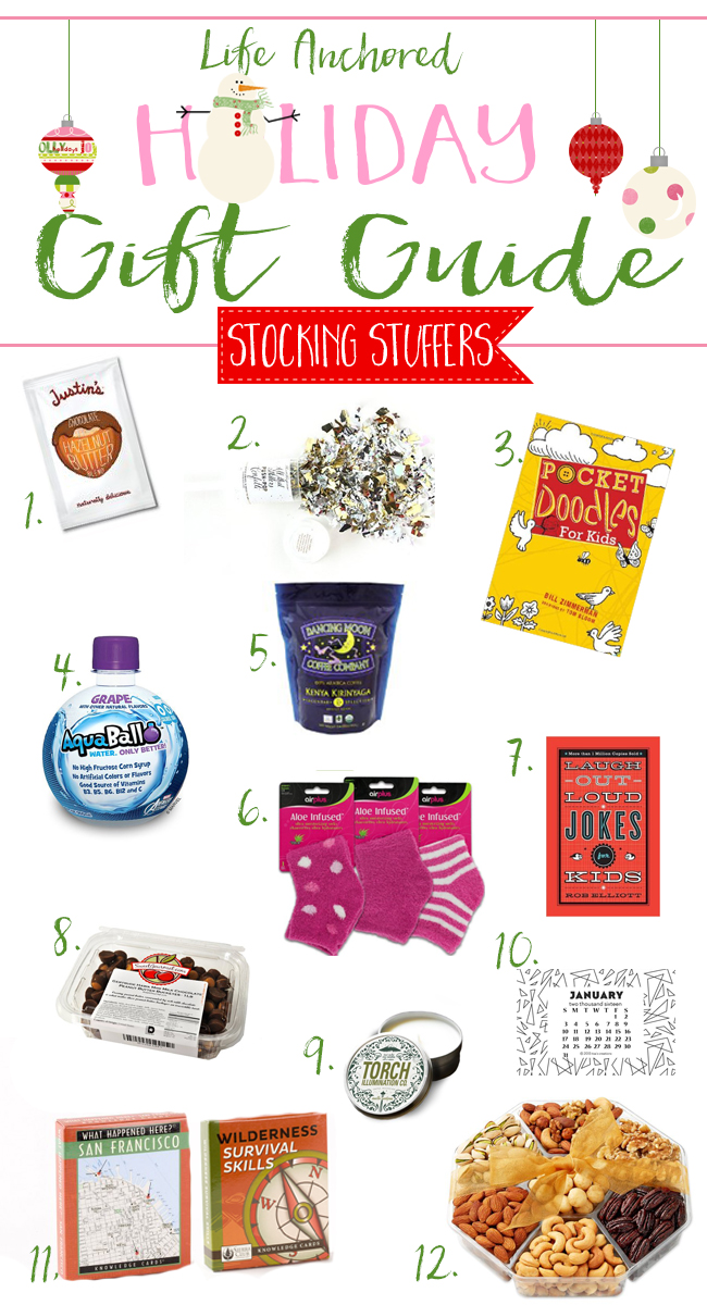 LIFE ANCHORED 2015 HOLIDAY STOCKING STUFFER GUIDE