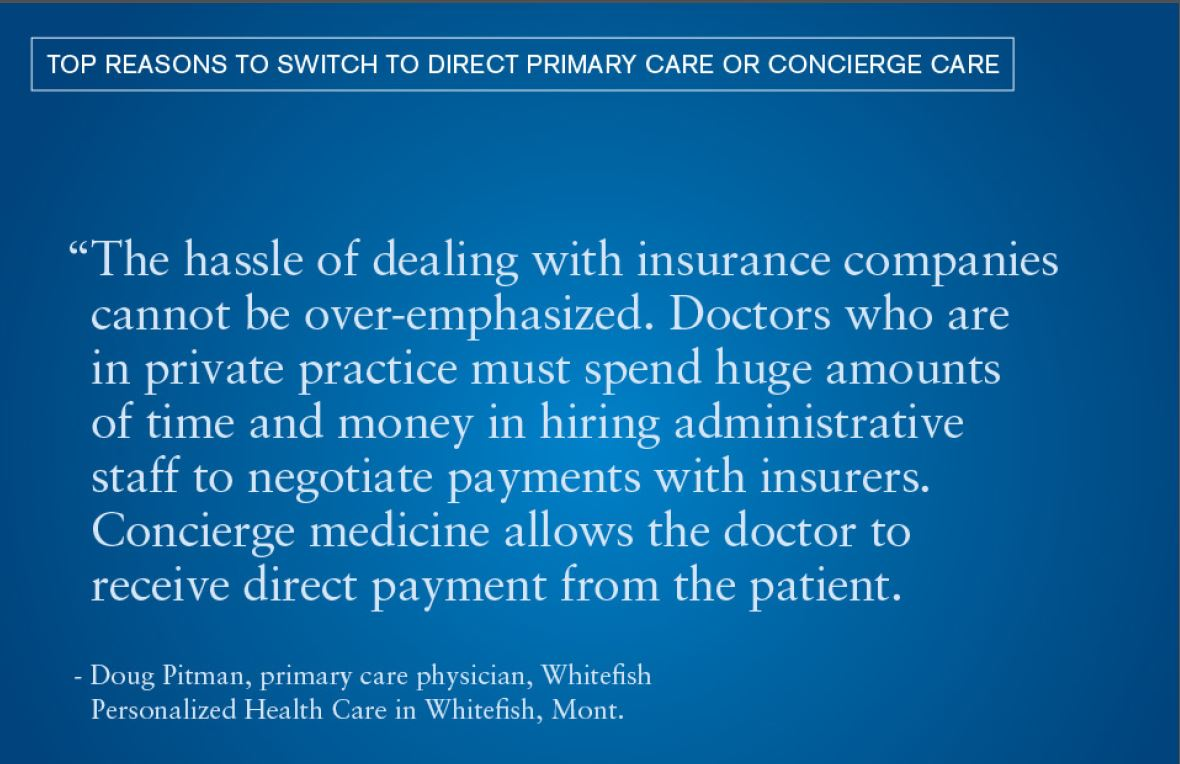 Top Reasons to Switch to Direct Primary Care or Concierge Care