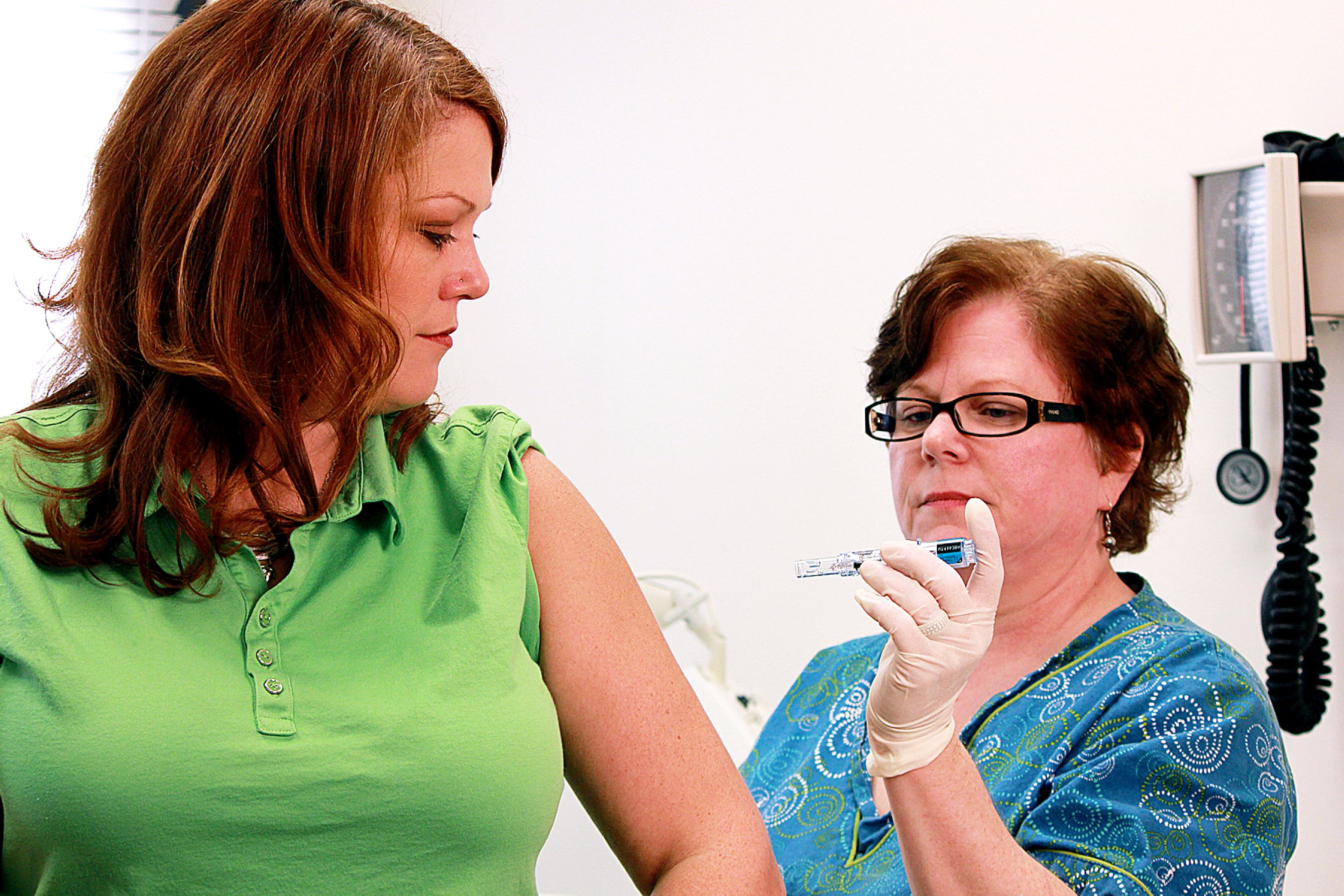 Flu vaccine will protect against the three influenza viruses tha