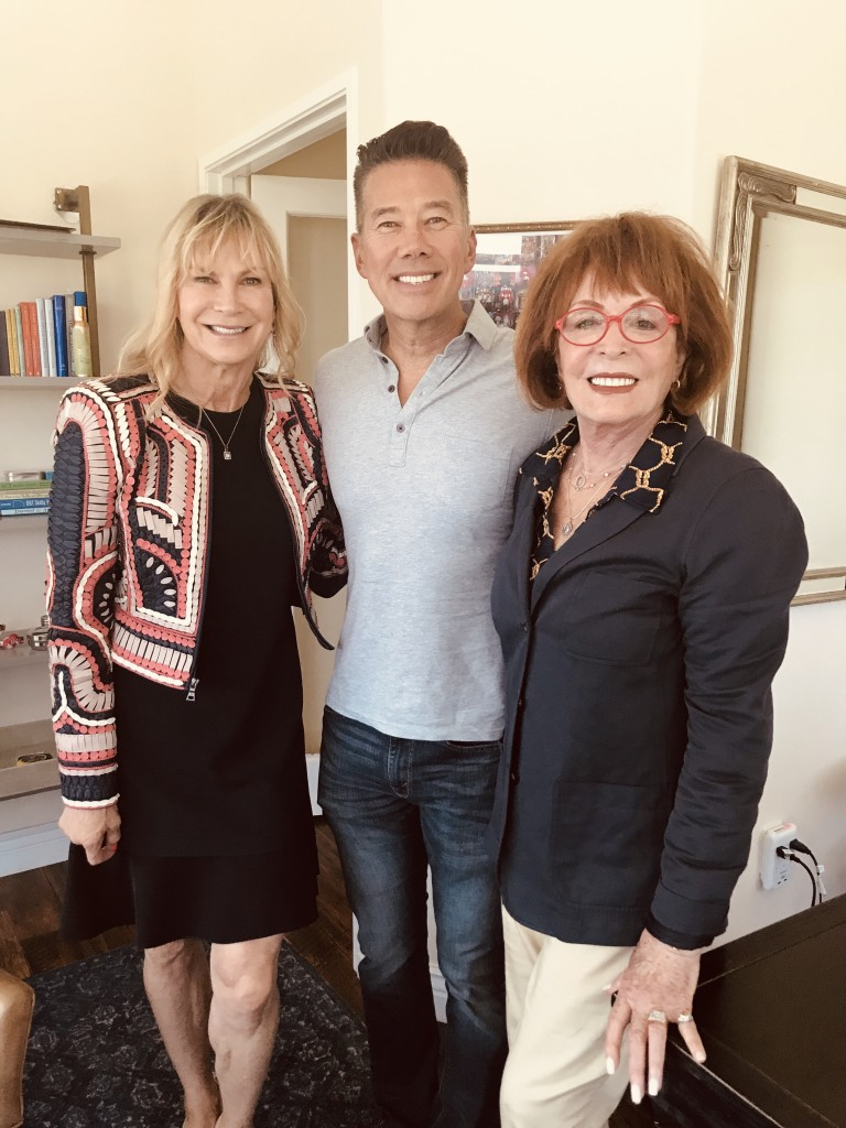 (l-r) Kimberly James, Founder & CEO Beach House Treatment Center, Gordon Tokumatsu, KNBC-TV News and Arlene Howard, AHPR